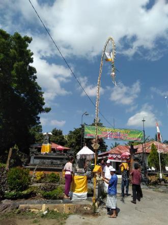 Ngamargiang Yasa Kerthi Upacara Panca Wali Krama Pura Agung Besakih