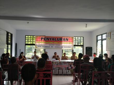 PENYALURAN BLTDD TAHAP III 2020 DESA JAGARAGA